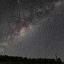 Milky Way rising,                                Jairo Amaral