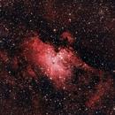Eagle nebula, Messier 16,                                Emil Kiss