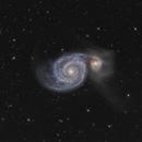 M51 / Whirlpool Galaxy (HaRGB),                                Falk Schiel