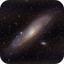 M31, the Andromeda Galaxy,                                Dean Studebaker