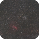 NGC 7635,                                Altair