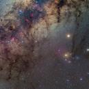 Scorpius with Mars and Saturn (LR, PS),                                Martin Junius
