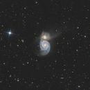 The Whirlpool Galaxy M51,                                Kai Albrecht