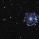 Cat's Eye Nebula :  2 year project,                                Josh Smith
