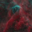 A flying bubble in Cygnus- WR 134,                                Jon Talbot