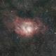 M8 - Lagoon Nebula,                                Felipe Mac Auliffe