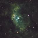 Bubble Nebula - Itelescope T18 - Hubble Palette,                                alexhollywood