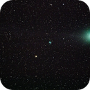 Lovejoy and the Little Dumbell Nebula,                                Peter