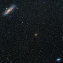 Galaxias Andrómeda (M31) y Triángulo (M33) campo amplio,                                Lakar