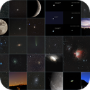 Summary of 2020 astrophotography,                                Frank Lothar Unger