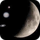 Summer 2020 Crescent Moon and First Planetary Captures,                                Brandon Tackett