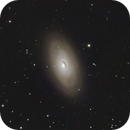M64 (Black Eye Galaxy) LRGB - 22 March 2010,                                Geof Lewis