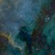 North America Nebula 1x2 Mosaic,                                Miles Zhou