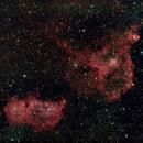 IC 1805 + 1848 - Heart and Soul Nebulae,                                AC1000