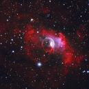 NGC 7635 Bubble Nebula HaOiiiRGB,                                Alex Dean