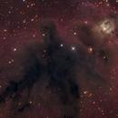 LDN 1622 Boogeyman Nebula,                                noodle