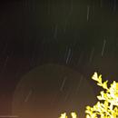 Cassiopeia star trail,                                www.astrobit.it