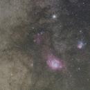 Saturnus bij Lagune en Trifid, crop,                                petelaa