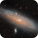 M31 Andromeda Galaxy,                                Jeff Weiss