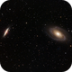 M81 Bode's Galaxy and M82 Cigar Galaxy,                                George Pappayliou