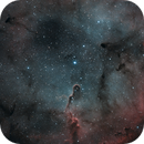 IC 1396 - The Elephant Trunk Nebula - First light from my new Observatory.,                                Byron Miller