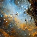 M16 - Eagle Nebula (SHO),                                Ruediger