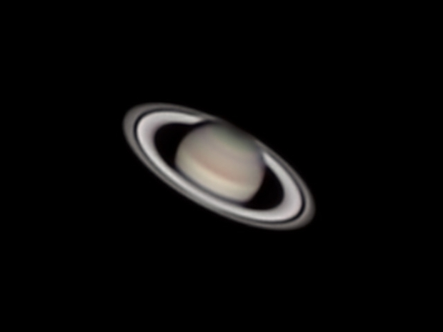 saturno il 5 luglio 2015 dall'Astrotorre,                                gagba