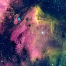 Pelican Nebula  IC 5070,                                AC Wood