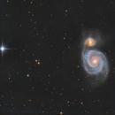 M51 a Simple image,                                Lensman57