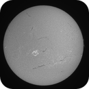 12 March 2015 a M1.4 class ribbon flare from AR2297,                                Andy Devey