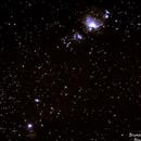 Nebulosa de Órion e parte da constelação de Órion,                                BRUNO_BRANDAO