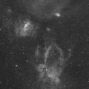 Sharpless 2-157, Messier 52, The Bubble Nebula, et al.,                                Dean Jacobsen