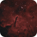 NGC 6820 (Sh 2-86) and NGC 6823 - HOO Narrowband,                                rhedden