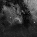 Pelican Nebula in Ha,                                Sean Boon