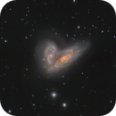 NGC 4567 & NGC 4568 - The Butterfly Galaxies (Siamese Twins),                                Michael Feigenbaum