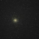 Globular star cluster M 22, single frame,                                Георгий Коньков