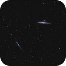 Whale and The Hockey Stick / Balina ve Hokey Sopasi galaksileri,                                bilgebay