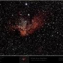 NGC 7380 - Wizard Nebula,                                Uwe Deutermann