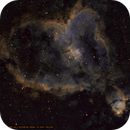 IC1805 - Heart Nebula in Hubble colors,                                Voirol Christian
