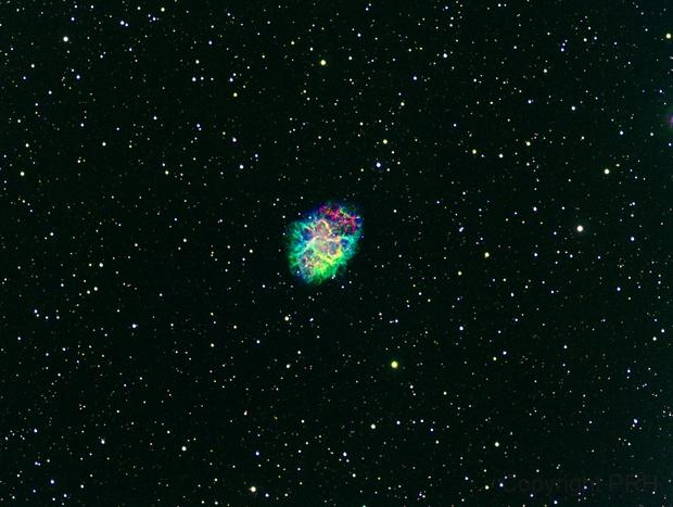 M1 Crab Nebula,                                Paul R. Hitchcock