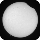 Partial eclipse 2015 Hα animation,                                GreatAttractor