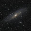 The Andromeda Galaxy,                                Olga W. Ismael