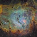 M8 - Lagoon Nebula using Theodore Arampatzoglou's data,                                Matthew