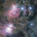 Orion's Garish Belt,                                FrostByte