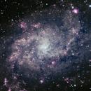 M 33 Galaxie du triangle,                                F48I3N