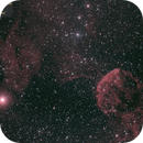 IC443,444 (Jellyfish Nebula, 2018.02.13, 33x5..7min=200min, convert2),                                Carpe Noctem Astronomical Observations