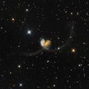 Antennae Galaxies - Galactic collision,                                Prabhu S Kutti