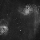 Flaming Star Nebula - HA,                                georgian82