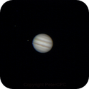 Jupiter with DSLR on March 25th 2016,                                PeterCPC