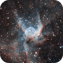 Thor's helmet nebula,                                Deddy Dayag